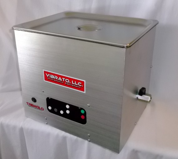Vibrato 10 Quart Ultrasonic Cleaner